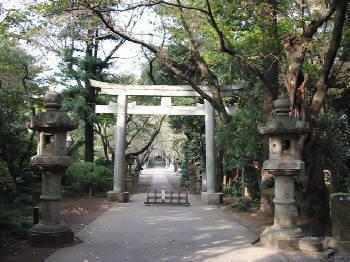 「久伊豆神社」